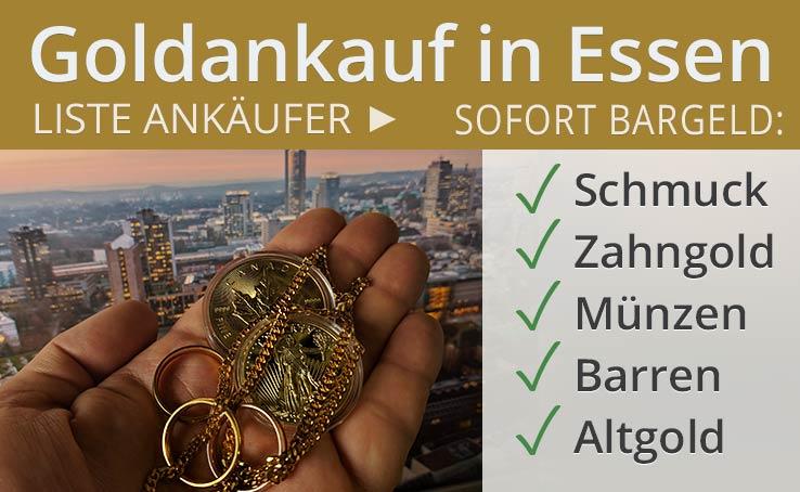 Goldankauf In Essen