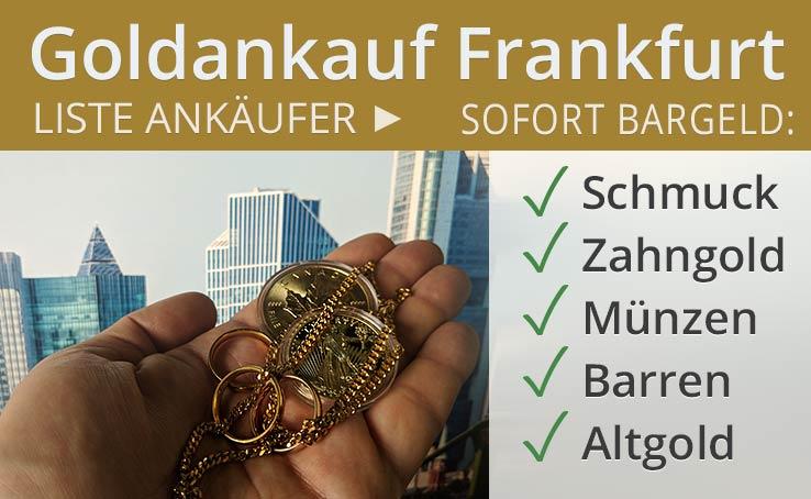 Goldankauf In Frankfurt Am Main