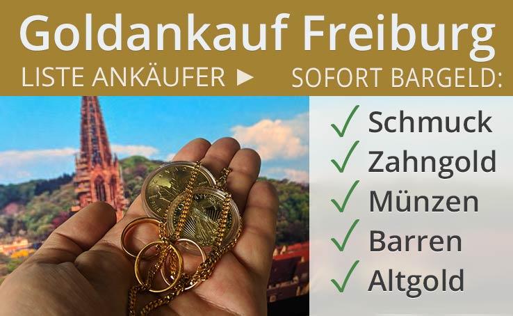 Goldankauf In Freiburg Im Breisgau