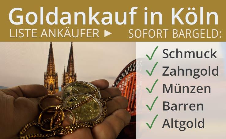 Goldankauf In Köln
