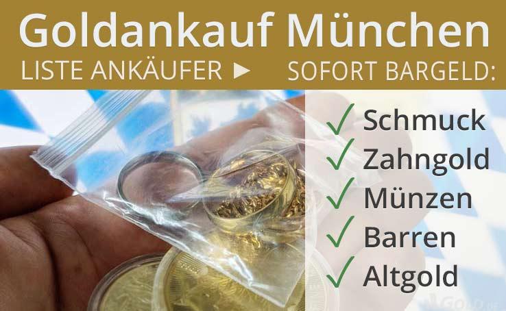 Goldankauf München Liste Goldankäufer Auf Goldde