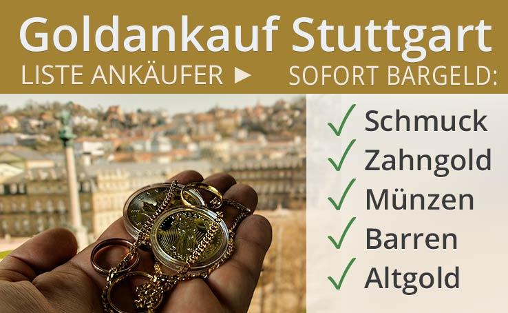 Goldankauf In Stuttgart