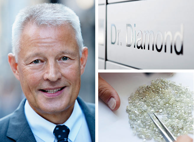 Diamant-Experte Dr. Freiesleben
