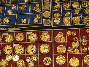 Goldmünzen Sammlung verkaufen