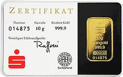 1 gramm gold sparkasse