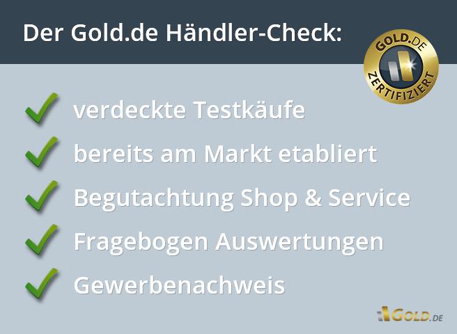 Gold.de Gütesiegel