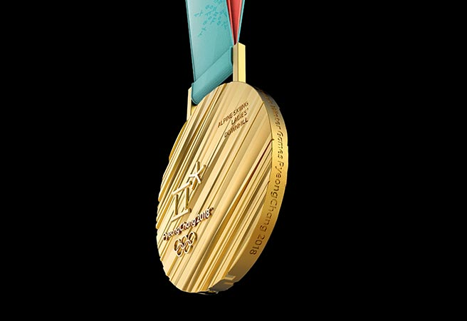 Goldmedaille olympische Winterspiele Pyeongchang