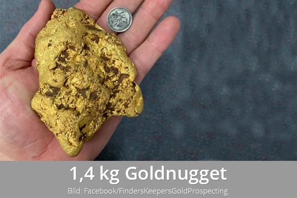 Goldnugget Australien