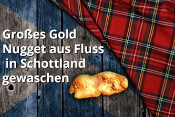 Goldnugget Schottland