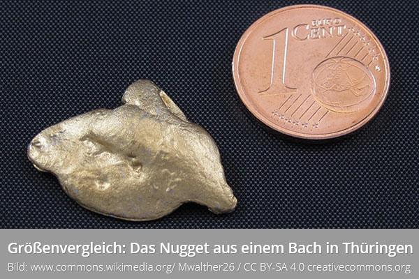 Größtes Goldnugget Deutschland