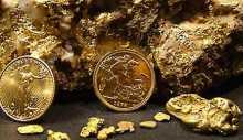 Primäres und sekundäres Gold Glossar