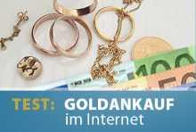 Test: Goldankauf im Internet