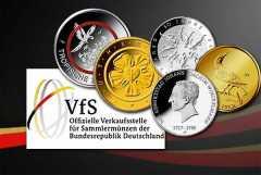 Deutsche Gedenkmünzen - Ausgabeprogramm 2017