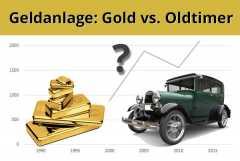 Oldtimer oder Gold: Welche Geldanlage ist besser?
