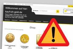 Warnung: Potentieller neuer Fakeshop hier-kauf-ich-gold.de