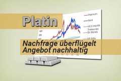 Platin: Nachfrage überflügelt Angebot nachhaltig
