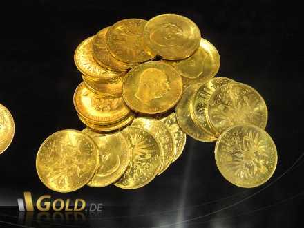100 Kronen Goldmünze aus Österreich