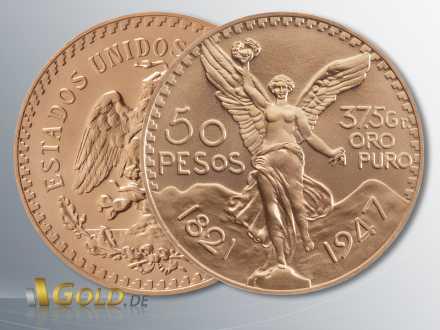Centenario 50 Pesos, Hidalgo, Gold (Mexico)