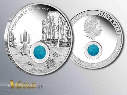 North America 2015 Treasures of the World, Silbermünze 1 oz