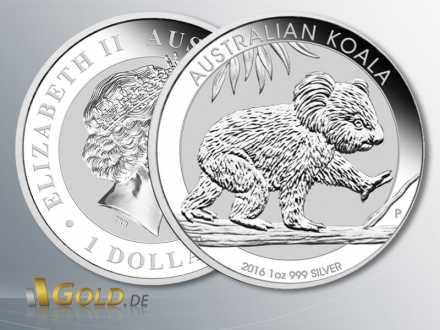 Koala 2016, Silber 1 oz