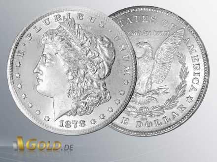 Morgan Silber Dollar, 1878