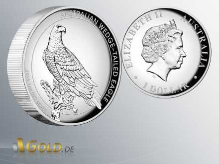 Wedge Tailed Eagle 2016 Silber Proof High Relief 1 oz