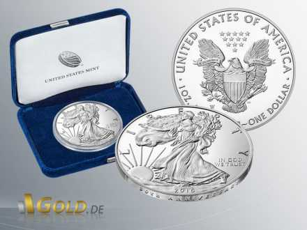 American Eagle 1 oz - 2016 Proof 30th Anniversary Shipper