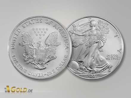 American Eagle Silbermünzen aus USA