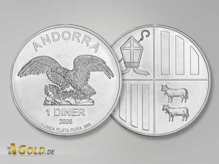 Andorra Eagle Silber