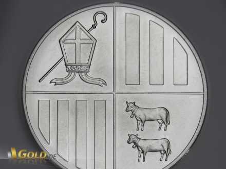 Andorra Eagle Silber im Detail