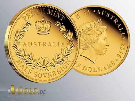 Australian Half-Sovereign 2016