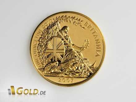 Britannia Gold, Motiv 2007, 1 oz