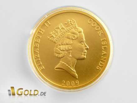 Cook Islands Gold, 1 Unze von 2009