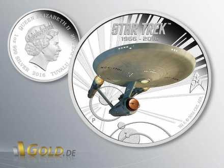 Star Trek 2016 Perth Mint Enterprise 2-Silbermünzen-Set Proof