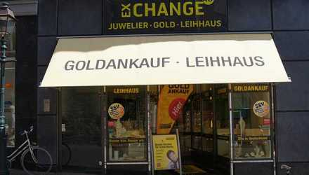 Gold-Exchange Leihhaus