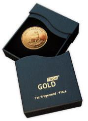 Gold to go: Geschenkbox