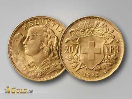 Gold Vreneli