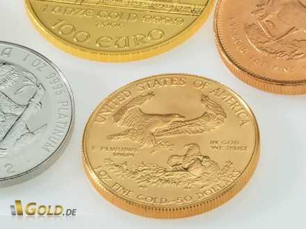 Gold Eagle - Anlageklassiker aus den USA