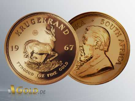 Krügerrand Vintage 1967 mit Privy Mark 50thAnniversary Proof 1 oz