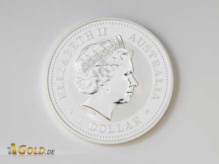 Avers der Lunar Serie I - Queen Elisabeth II.