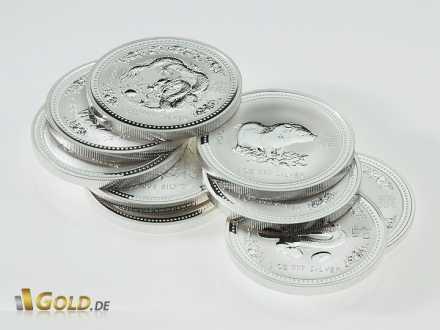 1 oz Lunar I Silbermünzen aus Australien