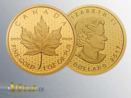Maple Leaf 2016 - 999,99 Gold 1 oz