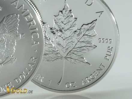 Klassische Bullion Anlagemünze Maple Leaf