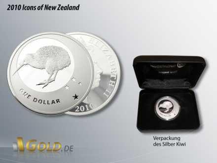 Silber Kiwi 2010, Icons of New Zealand, Kreuz des Südens