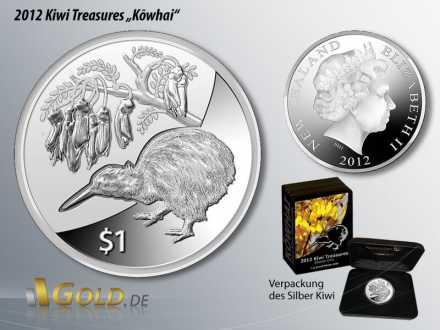 Silberkiwi von 2012, Kiwi Treasures