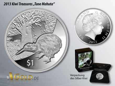 Silber Kiwi 2013, Kiwi Treasures