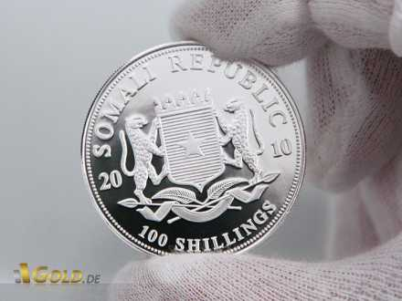 Avers: 100 Shillings Somali Republic
