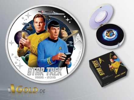 Star Trek 2016 Perth Mint Kirk und Spock Shipper