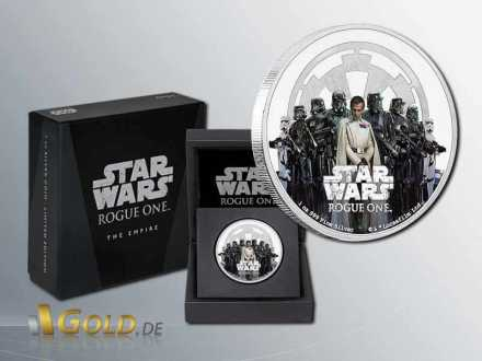 Star Wars-Rouge One 2017 The Empire Proof 1 oz Shipper