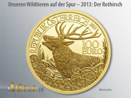 Unseren Wildtieren auf der Spur, Österreich, Erst-Ausgabe 2013: Der Rothirsch - Wertseite